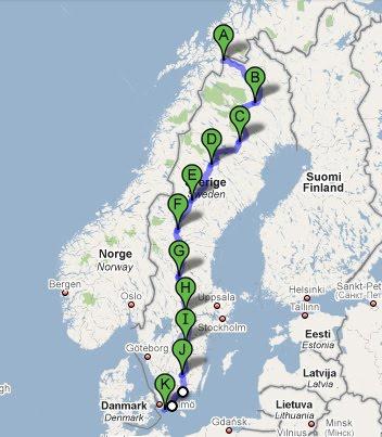 smygehuk karta Återfödd på en cykel: Riksgränsen   Smygehuk 2010 smygehuk karta
