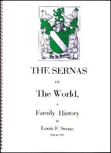 The Sernas of the World, a Family History