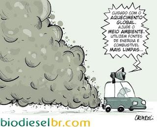 Resultado de imagem para diesel sujo charge