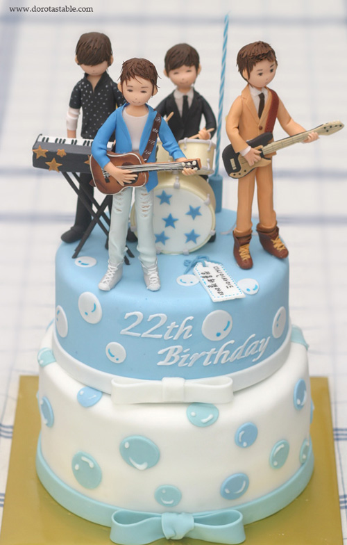 Kpop Cakes Fxband Infinite Shinee Superjunior Exo Bap