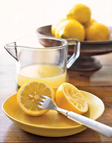 lemon juice shampoo