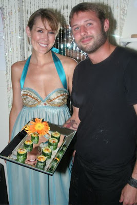 Model+Pic catering san diego wedding catering