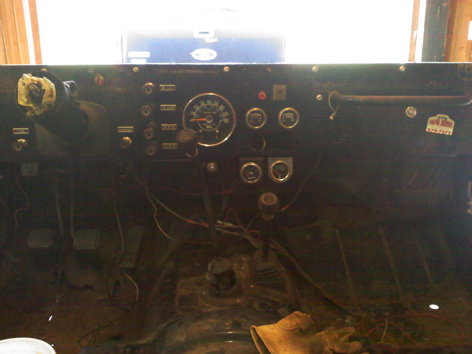 Removing the Dash   1983 CJ7 Rebuild