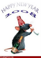 Year of The Rat.  I am a Rat!