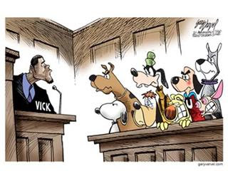 Hope Vick goes to jail for a long, long time...