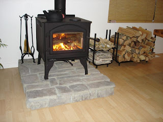 Hollishardware Wood Stove Hearth