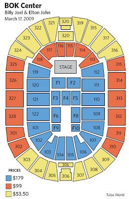 Elton John Seating Chart Brokeasshome Com