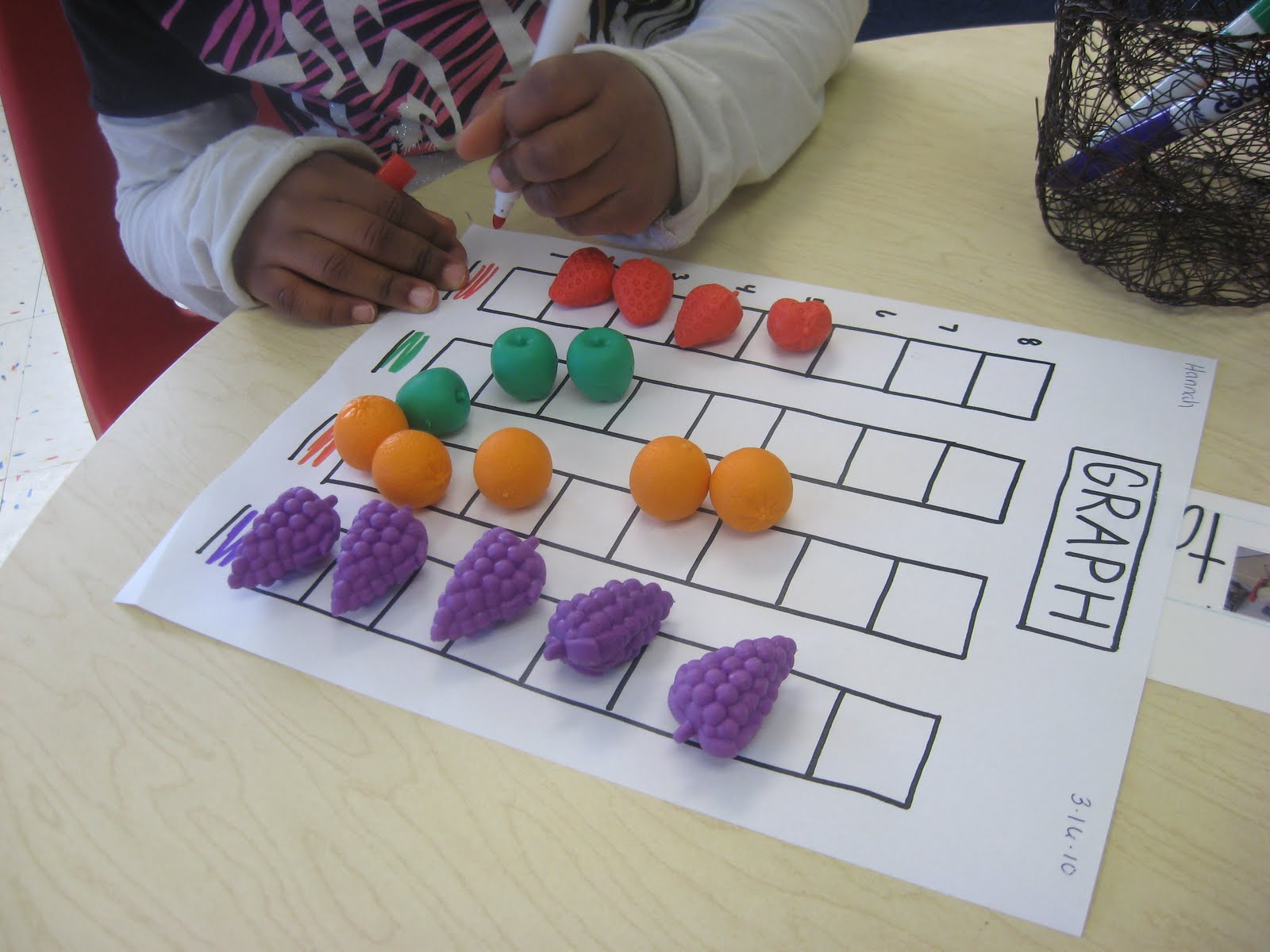 Whimsical Ways Graphing Preschool Style