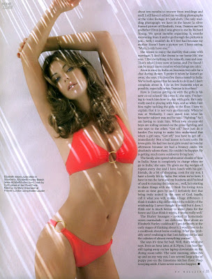 Elizabeth Hurley hot bikini pictures from ES magazine