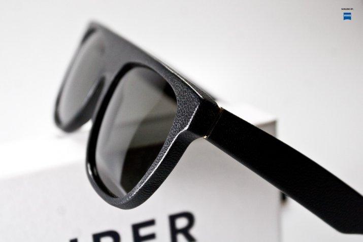 7d37eed76e5 Retro Super Future Flat Top sunglasses now in black leather