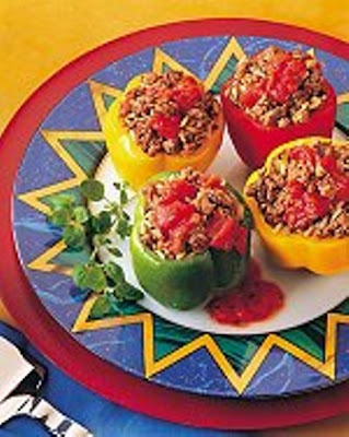 beef stuffed wiht peppers,weight loss