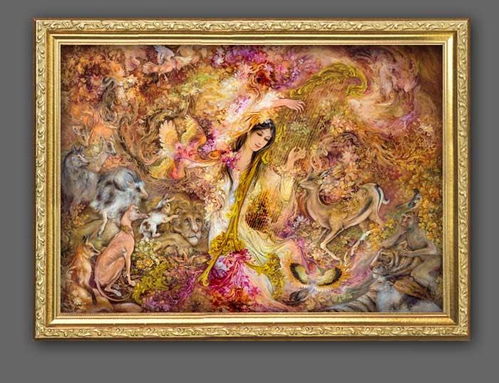 Famous Indian Artist Mfhusain 39