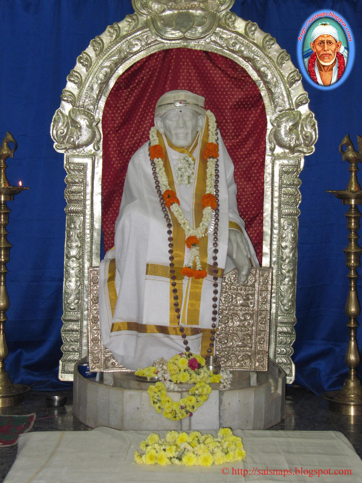 Sai Wallpaper Shirdi Sai Baba Mandira Mahalakshmi Layout