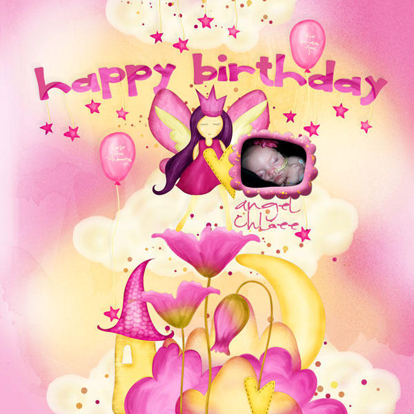 A Grieving Mommy's Blog: Happy Birthday In Heaven Angel Chloee