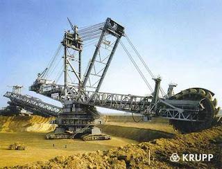 Bagger 288 : Excavator Terbesar Di Dunia