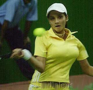 Sania Mirza Blue Film 63