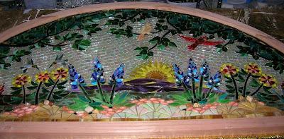Kathleen Dalrymple Glass Artist July 2008