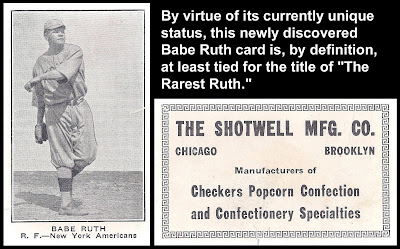 Bob Lemkes Blog Standard Catalog Update 9 A Really Rare Ruth