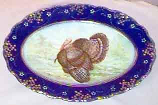 turkey plate  The Best Places To Buy Antiques  Collectibles