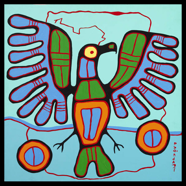 ART with Mrs. A: Norval Morrisseau and 3rd Grade Animal ...