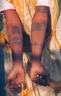 tatoo godhana mithila madhubani painting india