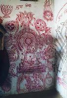ritual wall painting