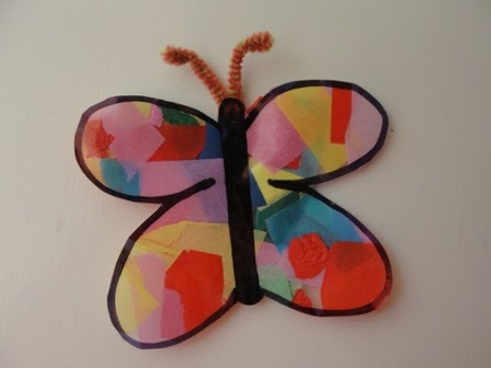 Sun Hats & Wellie Boots: Stained Glass Butterfly Window ...