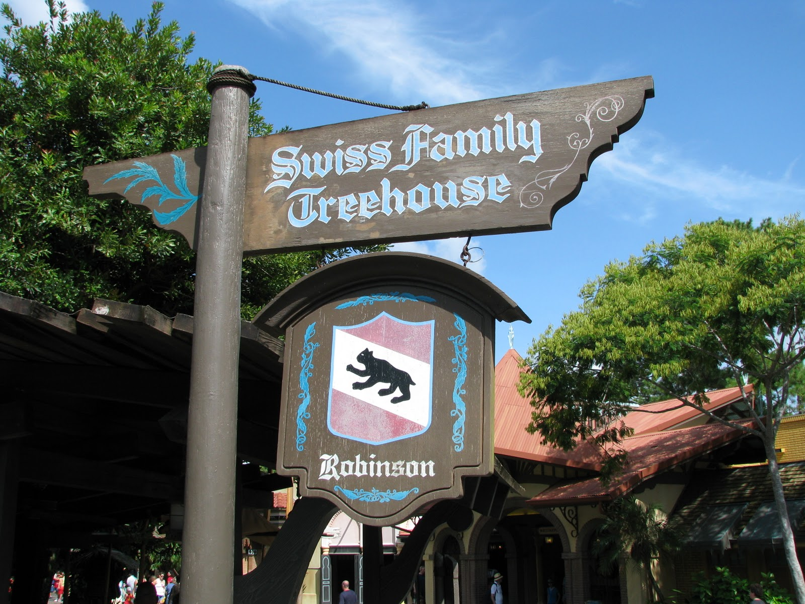 Exploring The Swiss Family Robinson Treehouse