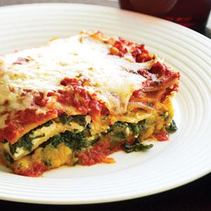 Healthy Tiger Veggie Lasagna