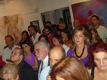 Publico colmando la sala del Espacio de Arte Ponce Boscarino