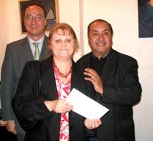 Entrega de la Mención de Honor Salón Diversidad y Convivencia