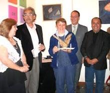 Entrega del Primer premio Salón diversidad y Convivencia