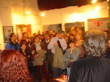 Momento de inauguración Arte y Artistas Emergentes