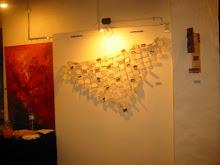"""Escultura """"133 formas para un Abrazo mas Justo"""""""