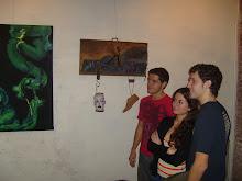 durante inauguración Represent-ART
