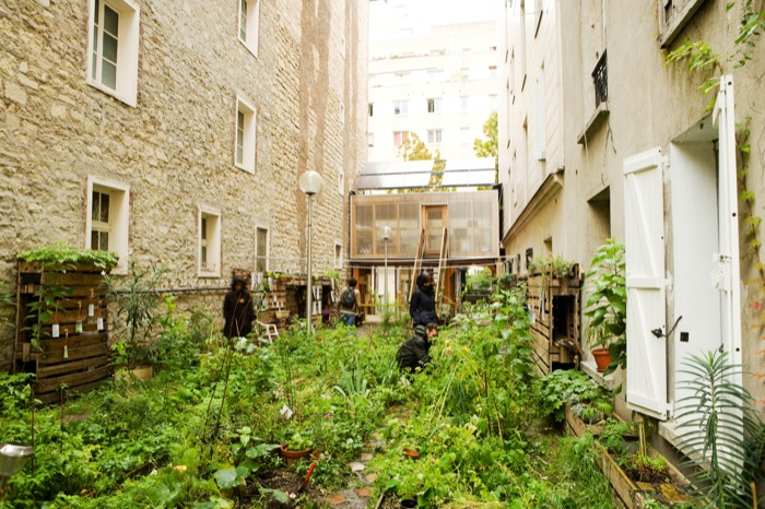 ecococos passage 56 paris francia atelier d architecture autog r e. Black Bedroom Furniture Sets. Home Design Ideas