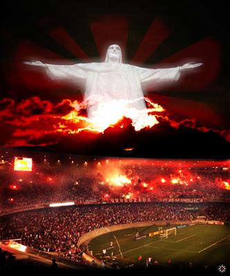 ff53dfd08bf8e Flamengo Eternamente  O Cristo abençoa o Flamengo
