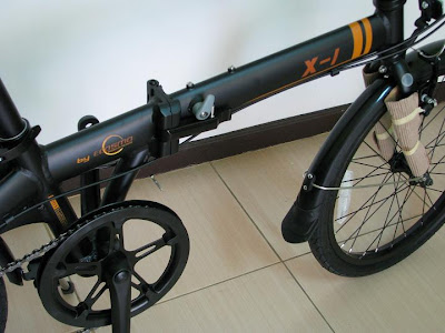 Serba sepeda: Dahon DLT X- 1. Folding Bike. Harga: Rp. 1