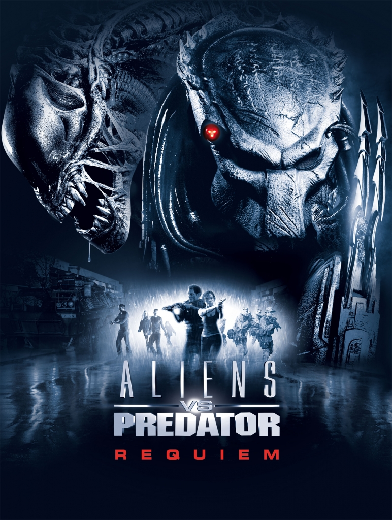All Movie Posters: Aliens vs Predator: Requiem