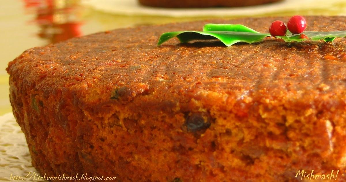Mishmash Fruit Cake Recipe