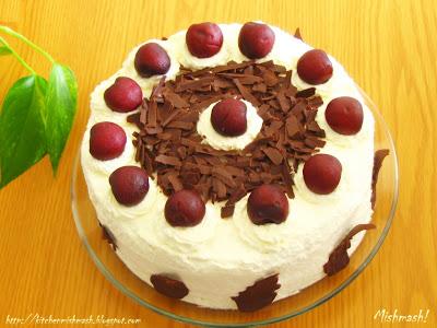 Mishmash !: Black Forest Cake OR Schwarzwälder Kirschtorte
