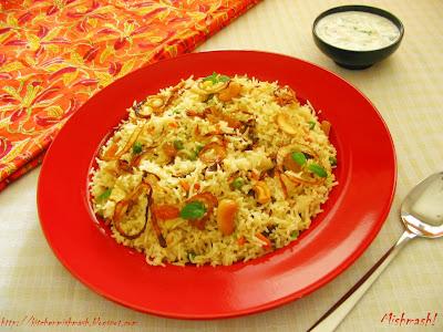 Vegetable Ghee rice