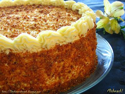 yellow cake with praline topping tiramisu raspberry cake fruit cake