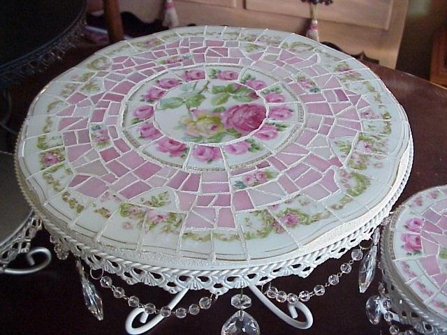 Broken China Mosaic How To Broken China Mosaic Pique