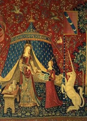Hida la dame la licorne a mon seul d sir - Tapisserie dame a la licorne ...