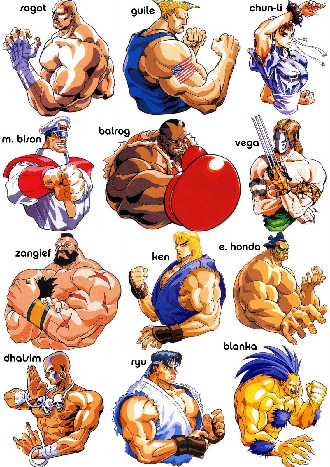 M Bison Street Fighter Movie New Generation of Figh...