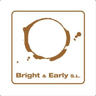Bright & Early cream logo