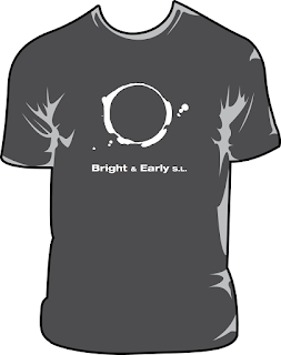 Bright & Early gray t-shirt