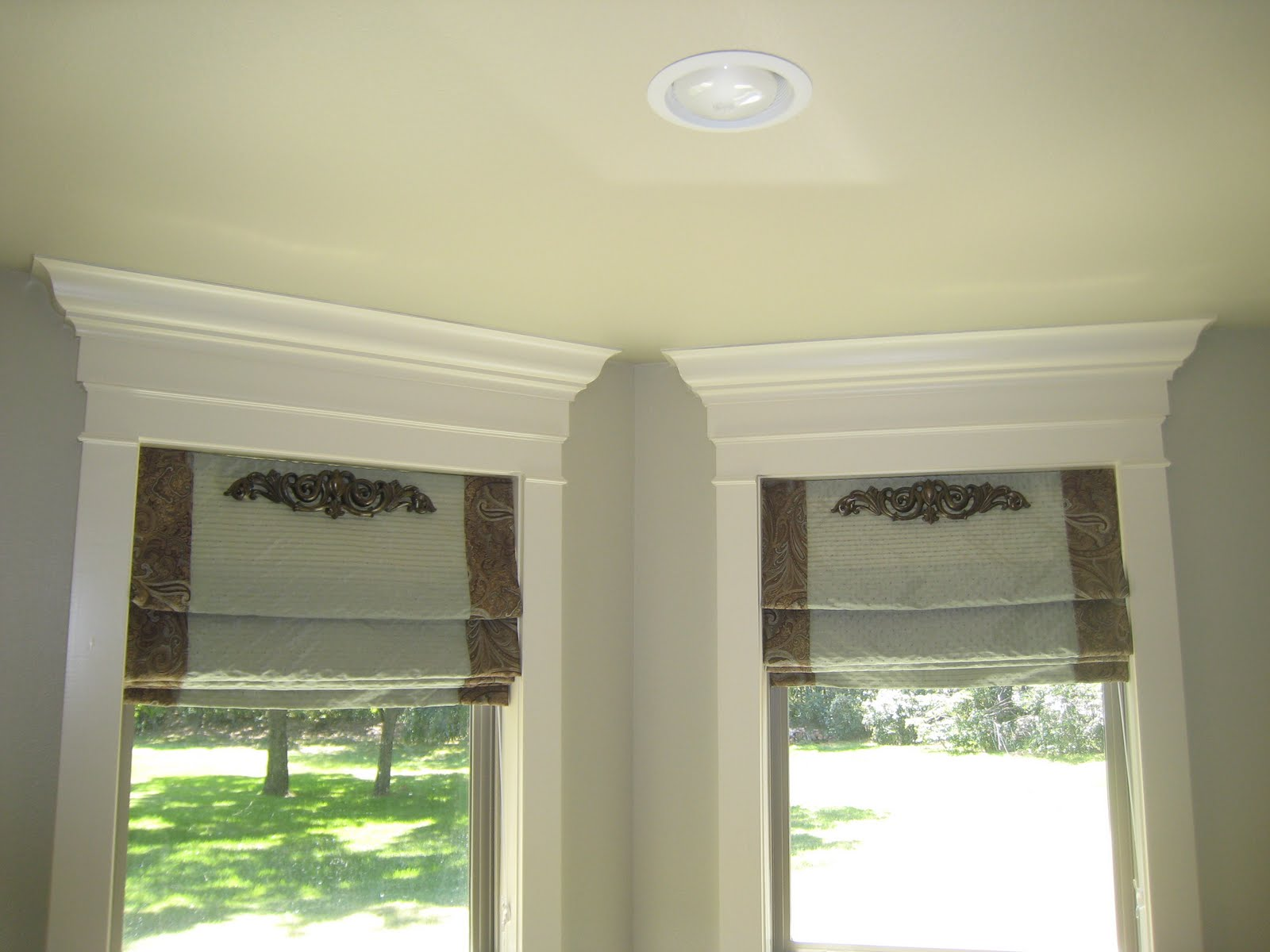Diy Roman Shades For French Doors Highlights From Sns 4 Window Treatments Funky Junk