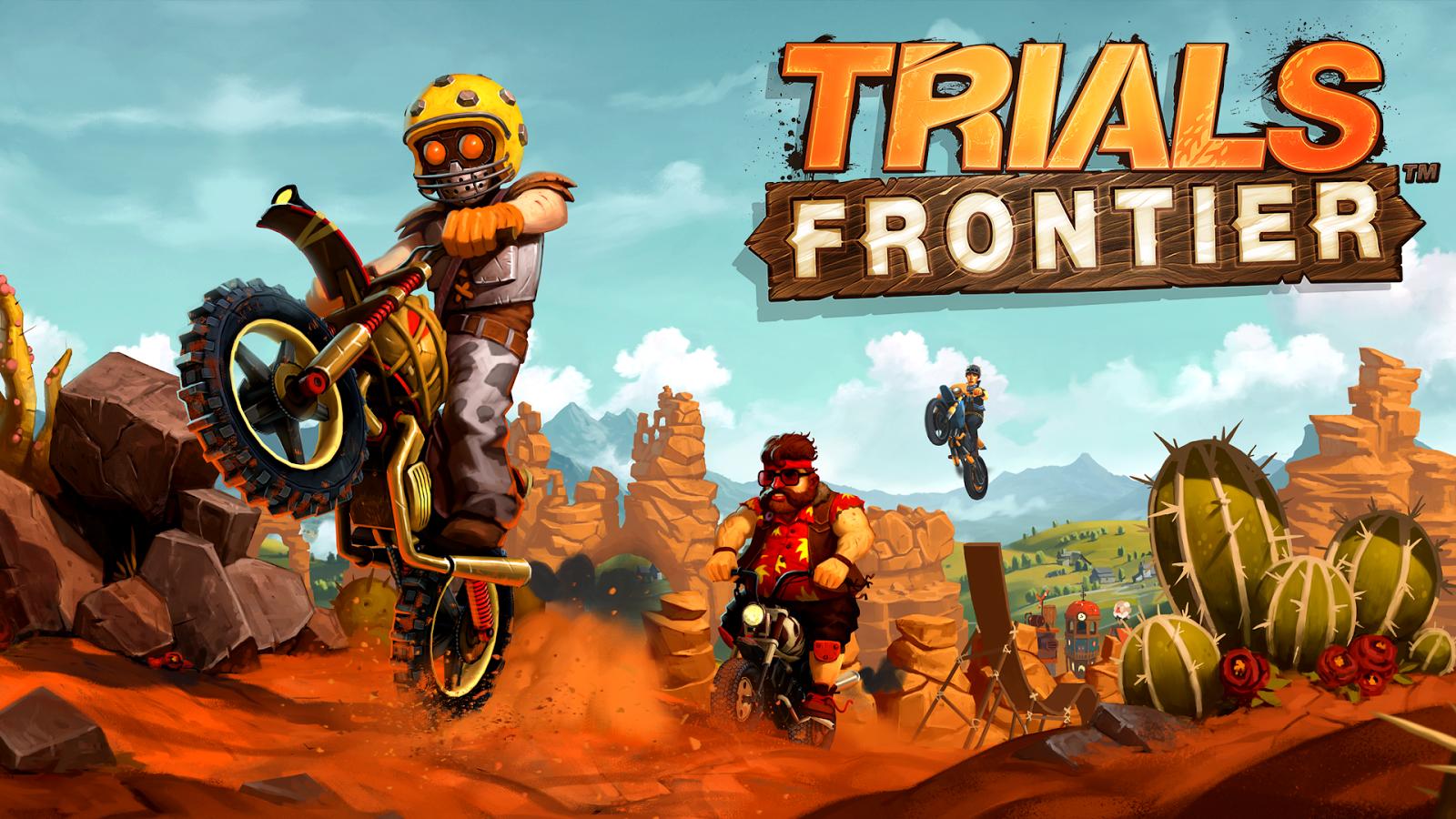 Permainan Trials Frontier 4.8.0 Apk terbaru 2017